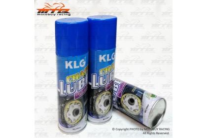 KLG HIGH PERFORMANCE MOTORCYCLE CHAIN LUBE (300ML) X 3 BOTTLES