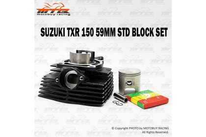SUZUKI TXR150 DOLPHIN (59MM) HEAVY DUTY STANDARD BLOCK SET