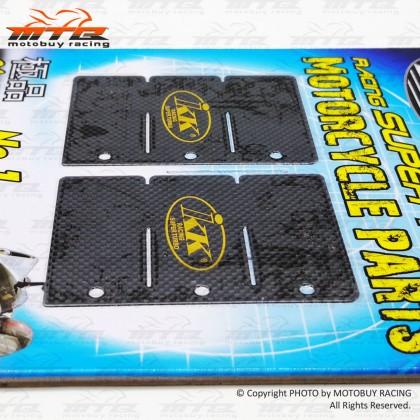 KAWASAKI ZX150 IKK SUPER RACING CARBON REED VALVE PLATE