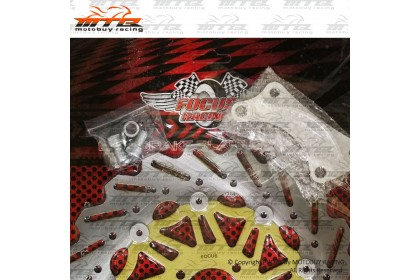 YAMAHA LC135 (4S) RACING DISC PLATE WITH BRACKET (FOR MODIFY TO 300MM)