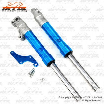 CLEAR STOCK! HONDA WAVE125 / 125S / 125X / WAVE100R (DISC) CNC ALLOY RACING FRONT FORK SET (DISPLAY UNIT)