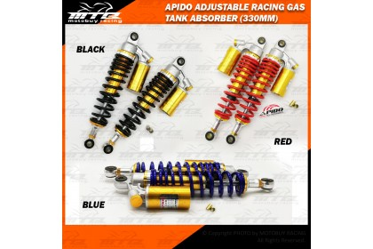 APIDO ADJUSTABLE RACING GAS TANK ABSORBER (330MM)