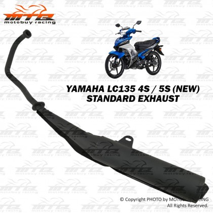 YAMAHA LC135 4S/5S (NEW) STANDARD EXHAUST